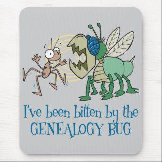 Gebeten door het Insect van de Genealogie Muismatten