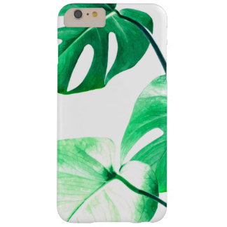 Gebladerte van de de bladeren het tropische zomer barely there iPhone 6 plus hoesje