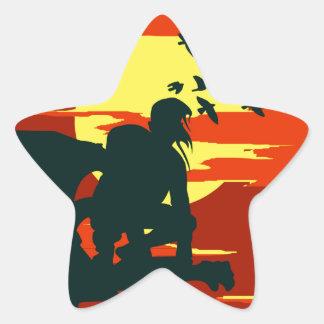 gebochelde van notredame ster sticker