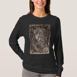 Gebogen (holbewoner), door Brian Benson T Shirt
