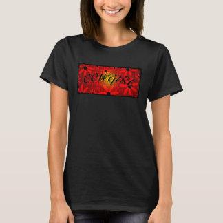 Gebogen Tekst van de Zonnestraal van de T Shirt