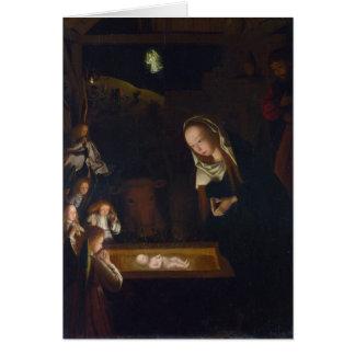 Geboorte van Christus Geburt Christi door Geertgen Kaart