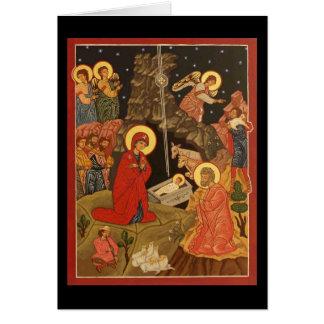 Geboorte van Christus van Christus/Spatie Briefkaarten 0