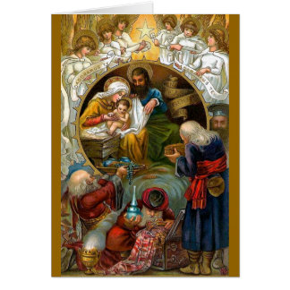Geboorte van Christus Wenskaart
