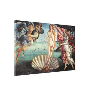 Geboorte van Venus door Sandro Botticelli Canvas Afdruk