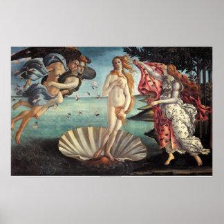 Geboorte van Venus Poster