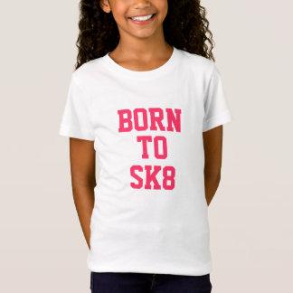 """""""Geboren aan SK8"""" Katoenen T-shirt"""