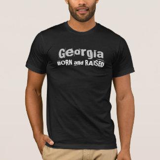 GEBOREN en OPGEHEVEN Georgië T Shirt