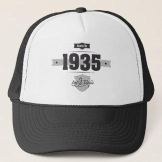 Geboren in 1935 (Dark&Lightgrey) Trucker Pet