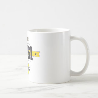 Geboren in 1961 koffiemok