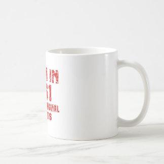Geboren in 1961 met Alle Originele Delen Koffiemok