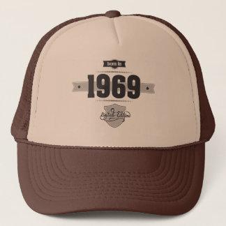 Geboren in 1969 (Dark&Lightgrey) Trucker Pet