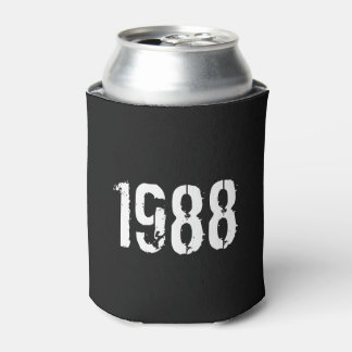 Geboren in de 30ste Verjaardag Jaar van 1988 Blikjeskoeler