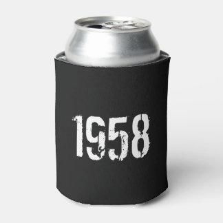 Geboren in de 60ste Verjaardag van 1958 Blikjeskoeler