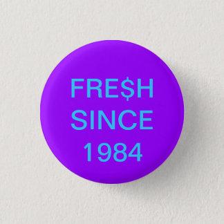 Geboren in de jaren '80 ronde button 3,2 cm