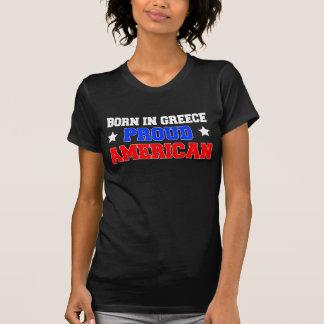 Geboren in Griekenland Trotse Amerikaan T Shirt