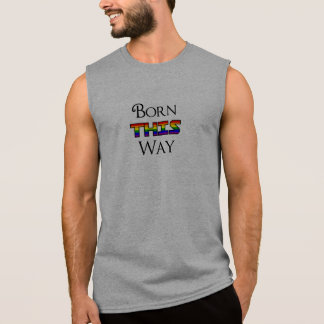 Geboren LGBT Deze Manier T Shirt