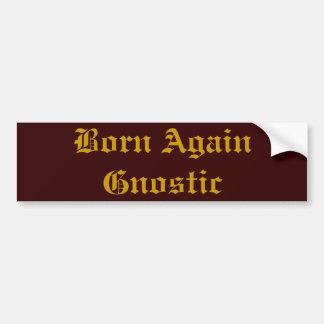 Geboren opnieuw Gnostic Bumpersticker