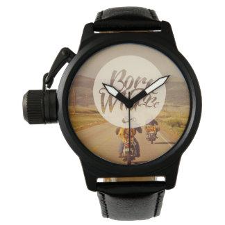 Geboren wild te zijn horloge