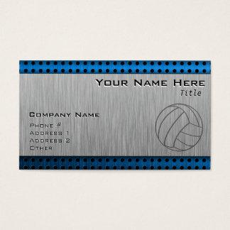 Geborsteld metaal-Blik Volleyball Visitekaartjes