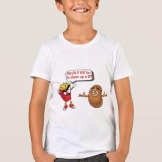 gebraden gerechten die ruwe aardappel schoon t shirt
