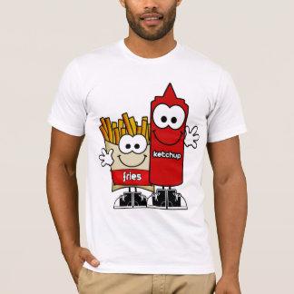 Gebraden gerechten en het Overhemd van de Ketchup T Shirt