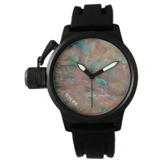 Gebrande Stedelijke Hype van het Koper Horloges
