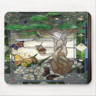 Gebrandschilderd glas Mousepad Muismatten