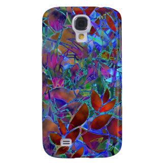 Gebrandschilderd glas van de Melkweg van Samsung Galaxy S4 Hoesje
