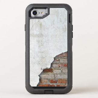 Gebroken bakstenen muur OtterBox defender iPhone 7 hoesje
