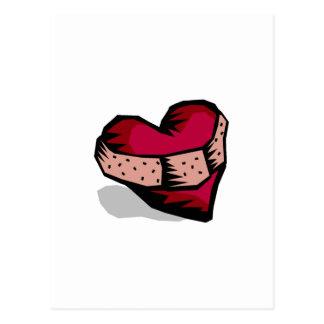 (Gebroken) hart Briefkaart