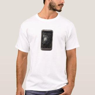 Gebroken Mobiele Telefoon T Shirt
