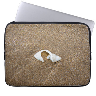 Gebroken shell laptop sleeve