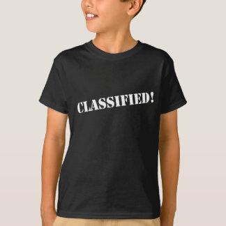Geclassificeerd T Shirt