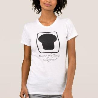 Gedenkschriften van een Logo van Tiener Shirt