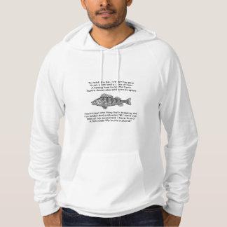 Gedicht voor de Visser Hoodie
