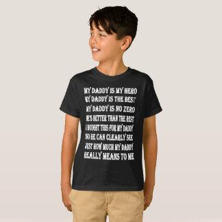 Gedichten op T-shirts voor Papa op Vaderdag