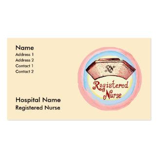Gediplomeerd verpleger visitekaartjes