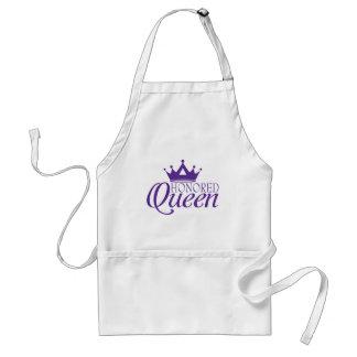 Geëerde Koningin Standaard Schort