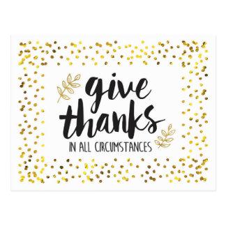 Geef Bedankt in Briefkaart AllCircumstances