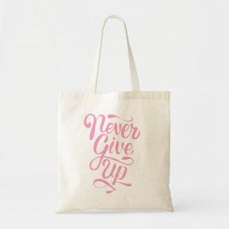 Geef bolsa van de kalligrafie nooit het roze draagtas