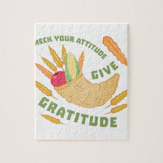 Geef Dankbaarheid Puzzel