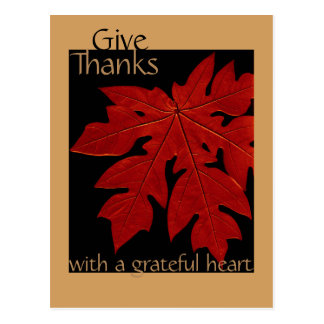 Geef de Douane van het Gebed van de Thanksgiving Briefkaart
