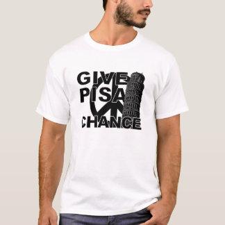 Geef het overhemd van de Kans van Pisa - kies T Shirt