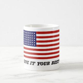 Geef het Uw Beste! Koffiemok