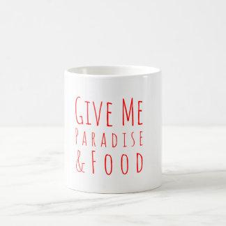 Geef me de Mok van de Koffie van het Paradijs
