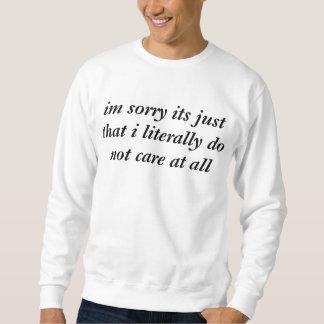 geef niet trui