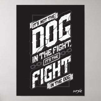 Geef nooit op - Motivatie Poster