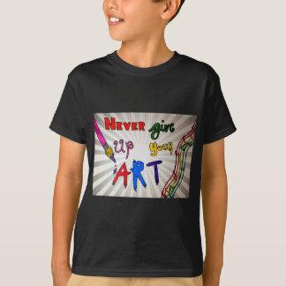Geef nooit Uw Art. op T Shirt