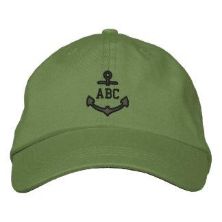Geef Uw ZeevaartAnker 123 van het Monogram Petten 0
